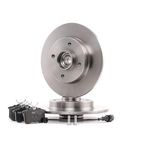 Bremsensatz, Scheibenbremse Bremsscheibendicke: 9mm mit OEM-Nummer JZW698451F