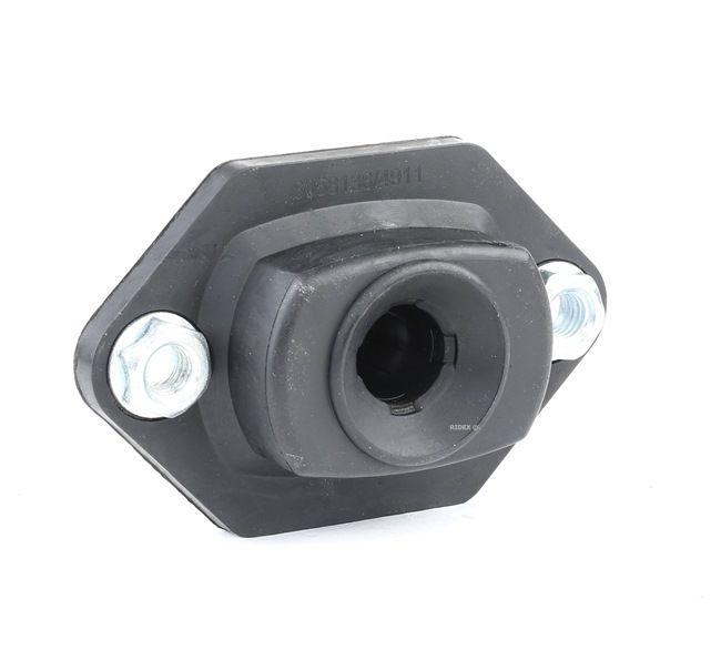 Strut mount RIDEX 8058138 Lower, Rear Axle