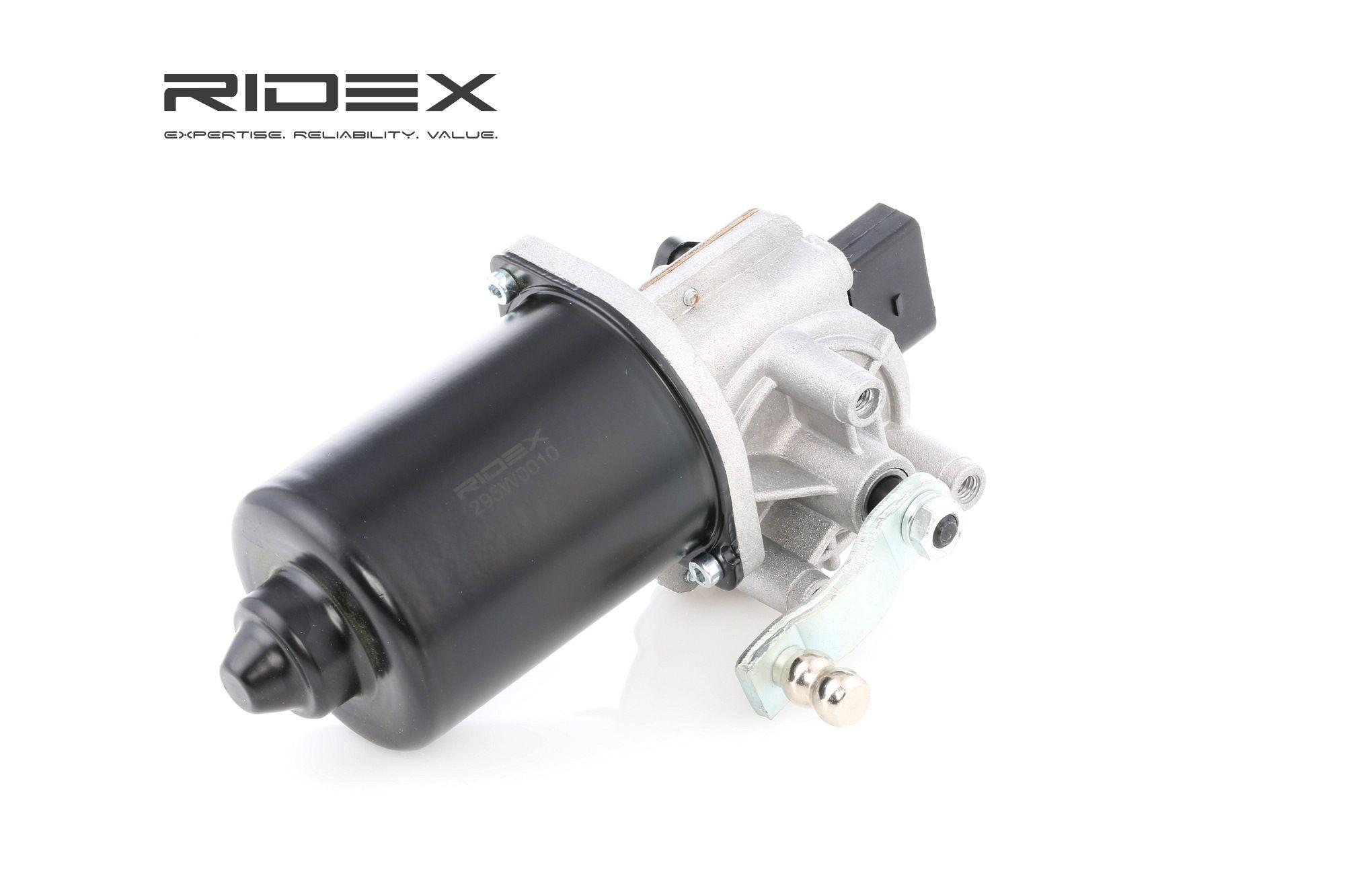 Windscreen Wiper Motor RIDEX 295W0010 rating