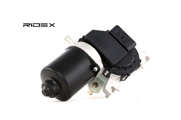 Motor del limpiaparabrisas RIDEX 8058677 delante, para vehíc. con volante a la izquierda