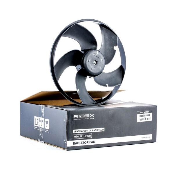 RIDEX Вентилатор за радиатор D1: 340мм, без рамка на вентилатора на радиатора