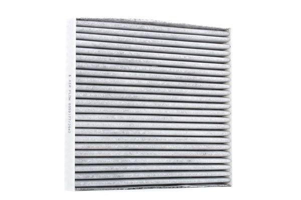 Filter, Innenraumluft Länge: 217mm, Breite: 194mm, Höhe: 25mm mit OEM-Nummer K05058381 AA