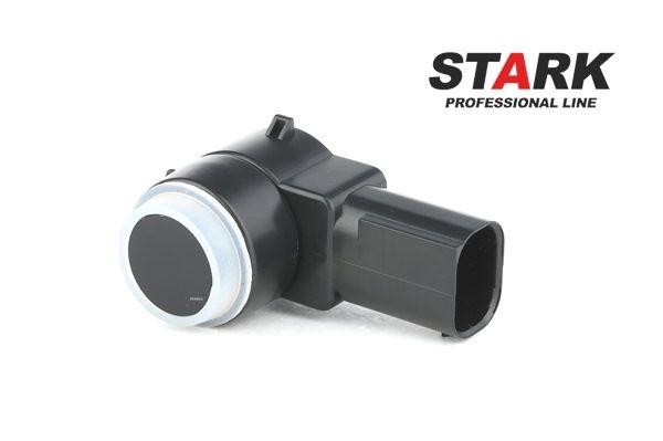STARK Reversing sensors PEUGEOT Front, Rear, Ultrasonic Sensor, Black