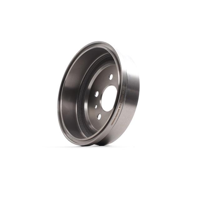 RIDEX Hinterachse, ohne ABS-Sensorring, ohne Radlager 123B0094
