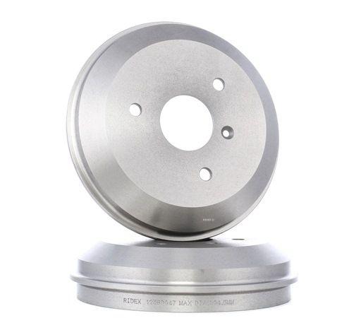 RIDEX 123B0047 Juego de forros de freno de tambor