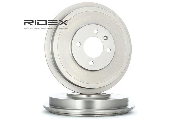 RIDEX Hinterachse, ohne ABS-Sensorring, ohne Radlager 123B0004