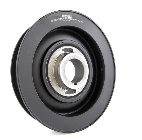 OEM Belt Pulley, crankshaft RIDEX 3213B0004