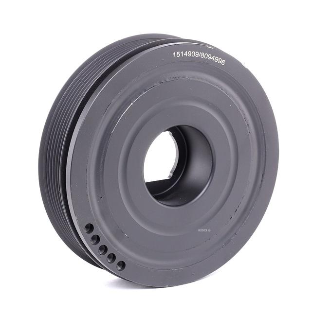 OEM Belt Pulley, crankshaft RIDEX 3213B0070