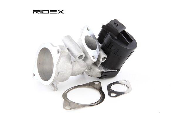 RIDEX Agr ventil VOLVO med packningar, elektrisk