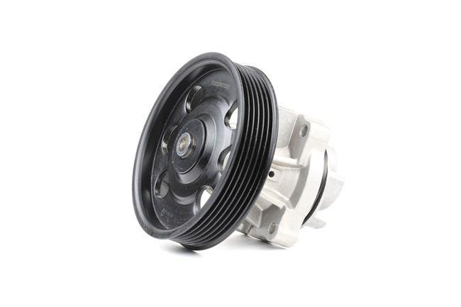 RIDEX Water pump OPEL with seal ring, Aluminium
