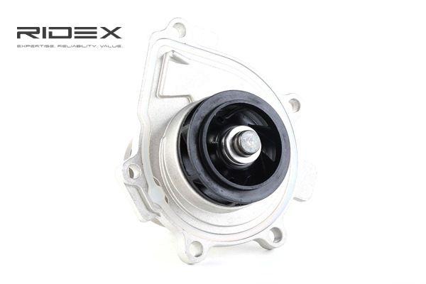 RIDEX Pompa acqua motore SAAB senza puleggia, con anello tenuta, Alluminio pressofuso