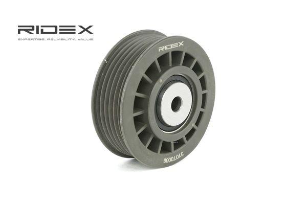 RIDEX Belt tensioner pulley MERCEDES-BENZ Ø: 70,00mm
