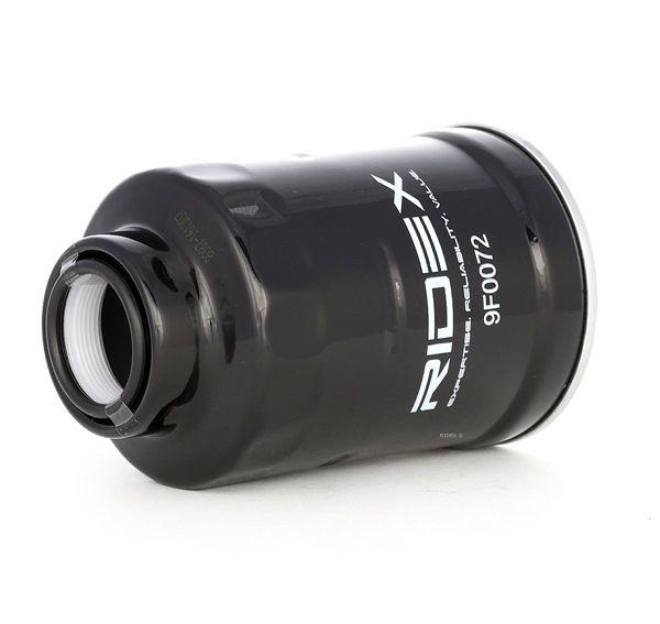 Filtro de combustible RIDEX 8097113 Filtro enroscable, con conexión para sensor de agua, Filtro de tubería, Tipo de combustible: Gasóleo, con junta anular
