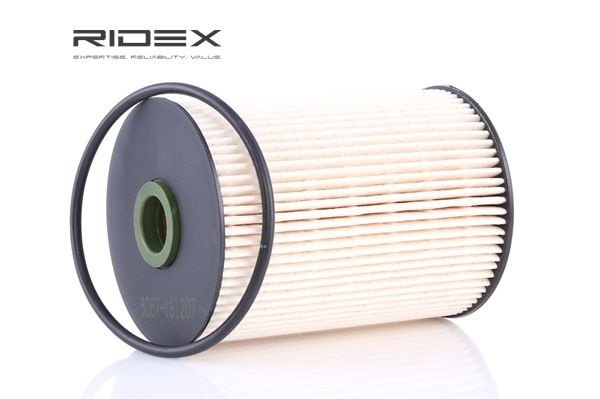Fuel filter RIDEX 8097131 Filter Insert, with gaskets/seals