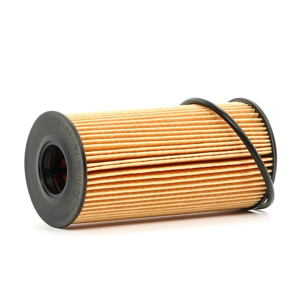 Oil filter RIDEX 8097466 Filter Insert, with seal ring