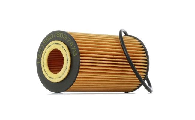 Filtro de aceite RIDEX 8097475 Cartucho filtrante