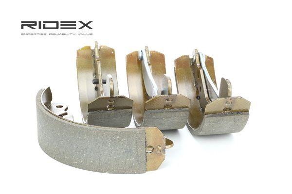 RIDEX Hinterachse, Ø: 200mm, mit Hebel 70B0065