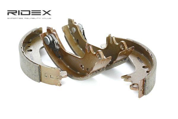 RIDEX Kit de zapatas de frenos PEUGEOT Eje trasero, Ø: 180mm