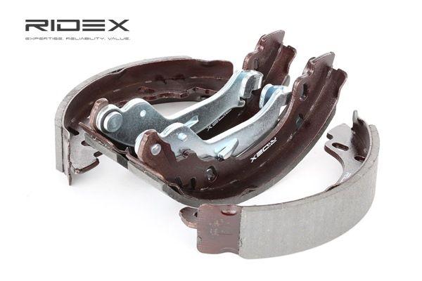 RIDEX Kit de zapatas de frenos FORD Eje trasero, Ø: 180mm, con palanca freno de mano