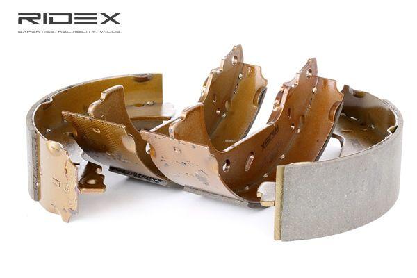 RIDEX Kit de zapatas de frenos PEUGEOT Eje trasero, Ø: 255mm
