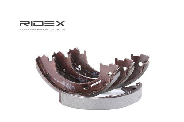 RIDEX Kit de zapatas de frenos DODGE Eje trasero, Ø: 172,0mm, sin palanca