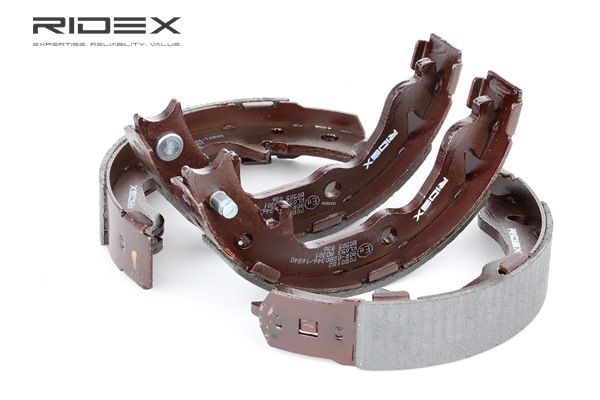 RIDEX Kit freni a tamburo JEEP Assale posteriore, Ø: 168mm, senza leva