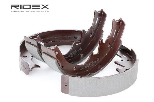 RIDEX Kit freni a tamburo JEEP Assale posteriore, Ø: 254mm, senza leva