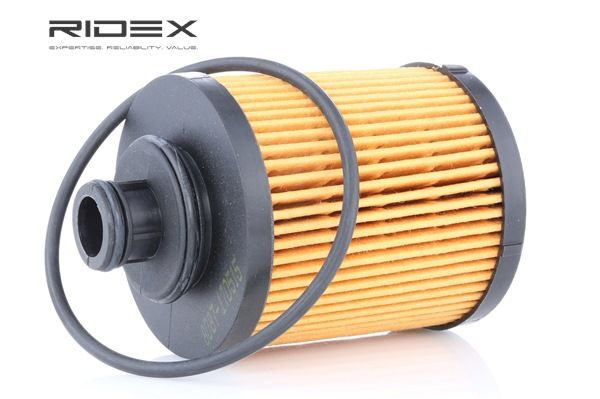 Oil filter RIDEX 8098399 Filter Insert, with seal ring