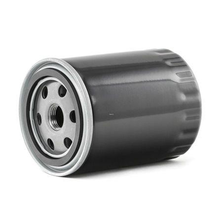 Oil filter RIDEX 8098554 Screw-on Filter