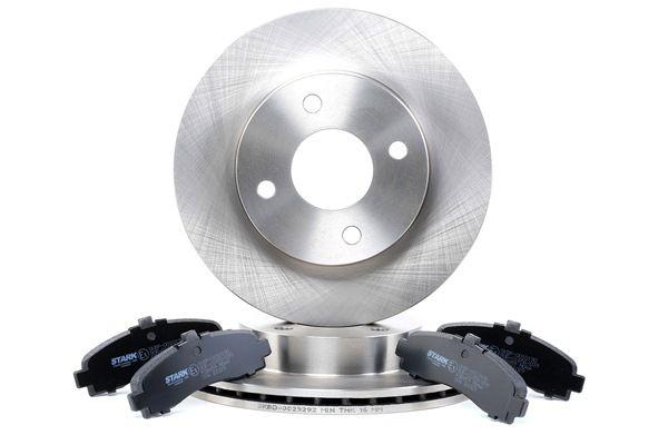 Σετ φρένων, δισκόφρενα SKBK-1090260 MICRA 2 (K11) 1.3 i 16V Έτος 1997