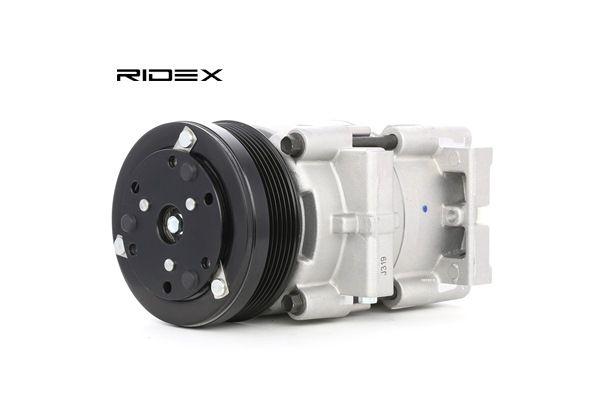 RIDEX Compresores de aire acondicionado FORD USA PAG 46, Frigor.: R 134 a, con aceite de compresor PAG