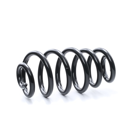 RIDEX Suspension springs AUDI Rear Axle, for vehicles without sports suspension