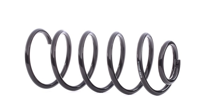 RIDEX Suspension springs AUDI Front Axle, for vehicles without air conditioning