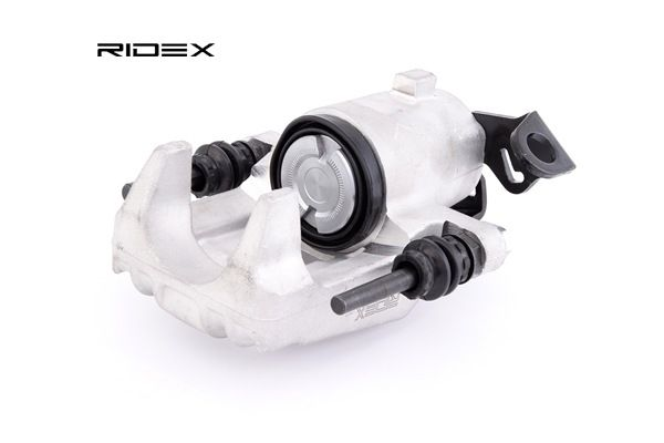 Caliper RIDEX 8100073 Rear Axle, Rear Axle Right, without holder