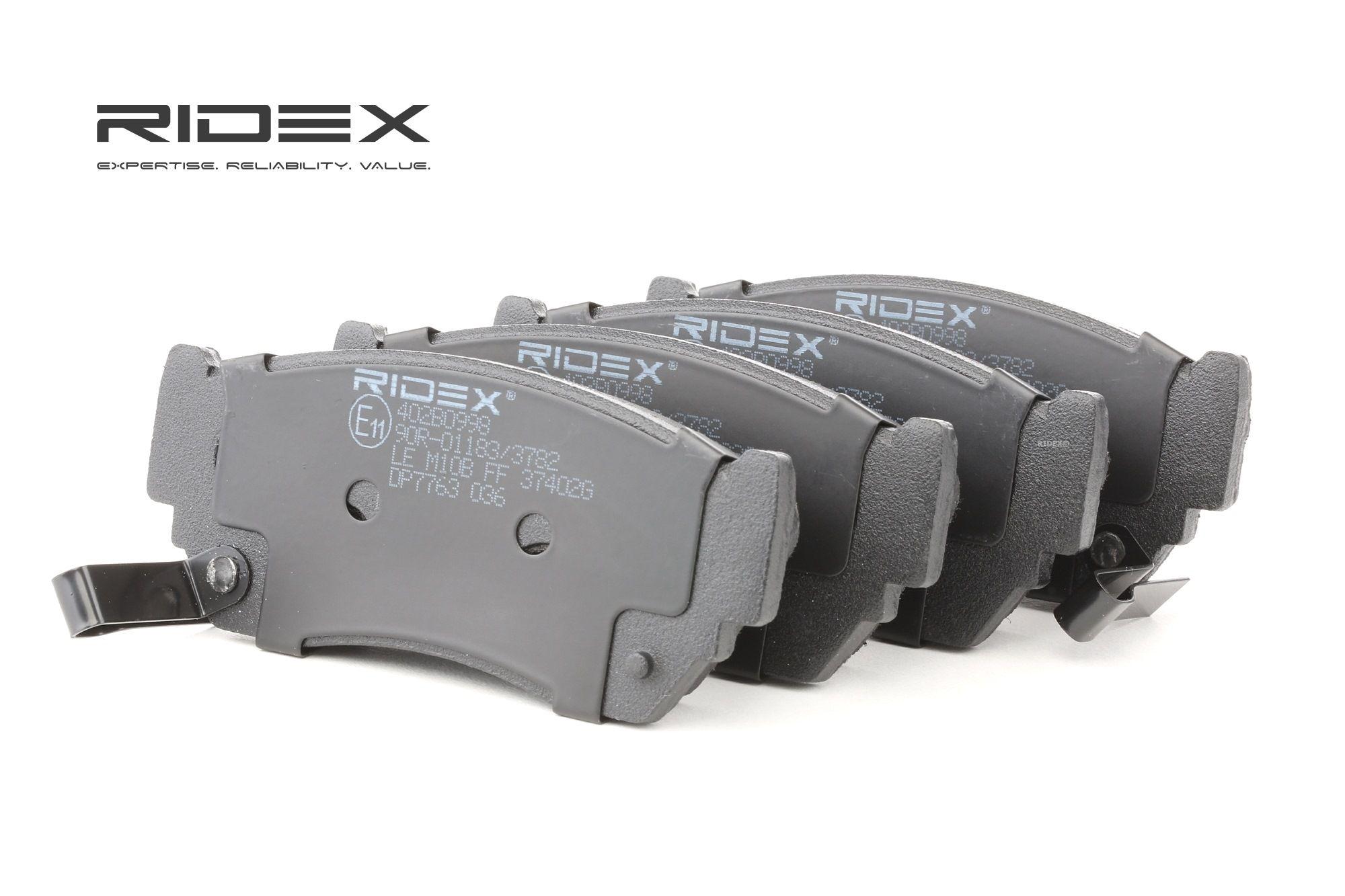 Bremsbelagsatz RIDEX 402B0998 Bewertung