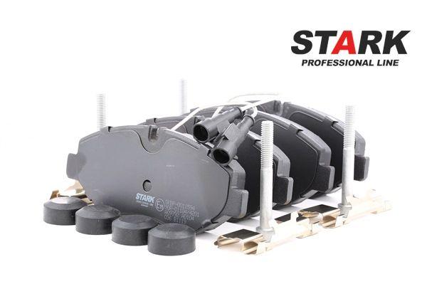 STARK Vorderachse, mit integriertem Verschleißsensor, mit Bremssattelschrauben, mit Anbaumaterial SKBP0011594
