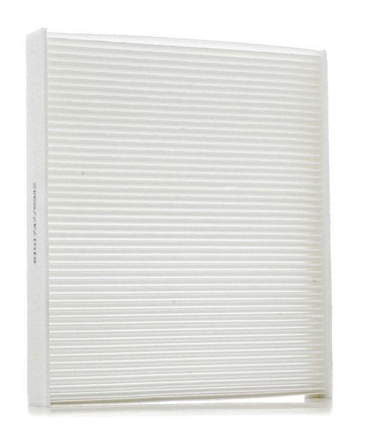 Filtro de aire acondicionado RIDEX 8101747 Cartucho filtrante, Filtro de partículas