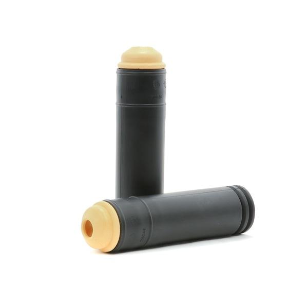 Topes de suspensión & guardapolvo amortiguador RIDEX 8140271 Eje trasero