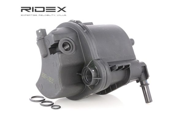 Fuel filter RIDEX 8149909 In-Line Filter, Fuel Type: Diesel