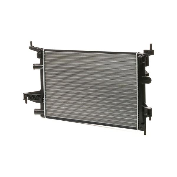 RIDEX Воден радиатор OPEL алуминий, механично съединени охлаждащи ламели, без рамка
