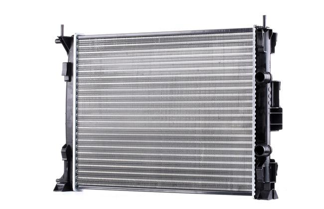 RIDEX Chladič motoru RENAULT hliník, Kühlrippen mechanicky plněný