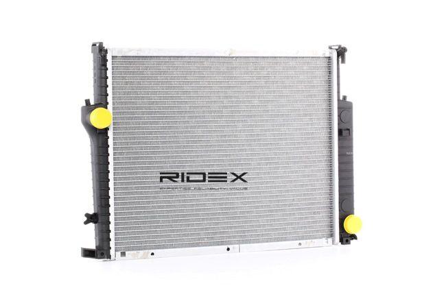 RIDEX Radiador arrefecimento do motor BMW Alumínio, Plástico, Caixa de velocidades manual