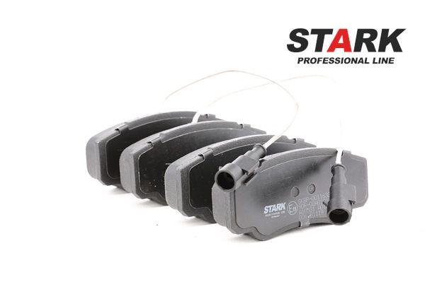 STARK Hinterachse, mit integriertem Verschleißsensor, mit integriertem Verschleißwarnkontakt SKBP0011633