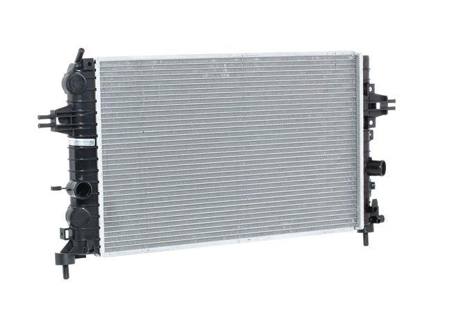 RIDEX Radiator engine cooling VAUXHALL Aluminium, Plastic, Manual Transmission