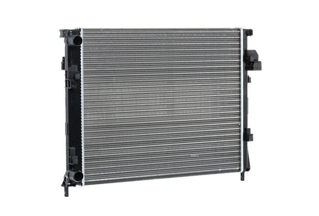 RIDEX Chladič motoru RENAULT hliník, Plast, manuální převodovka