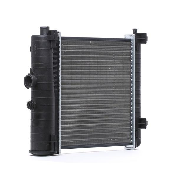 RIDEX Chladič motoru MERCEDES-BENZ hliník, Kühlrippen pájený, bez rámu