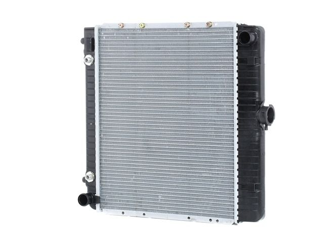 RIDEX Radiador refrigeración del motor MERCEDES-BENZ Aluminio, Aletas refrigeración soldadas, Transmisión automática, sin bastidor