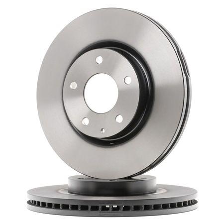 Brake discs and rotors TRW 8152911 Vented