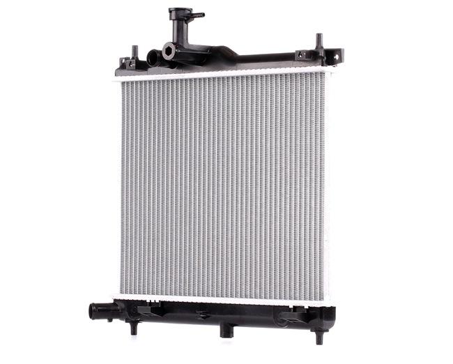 RIDEX Chladič motoru HYUNDAI hliník, Plast, pro manuální převodovku