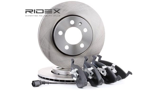 RIDEX Vorderachse, belüftet, inkl. Verschleißwarnkontakt 3405B0003